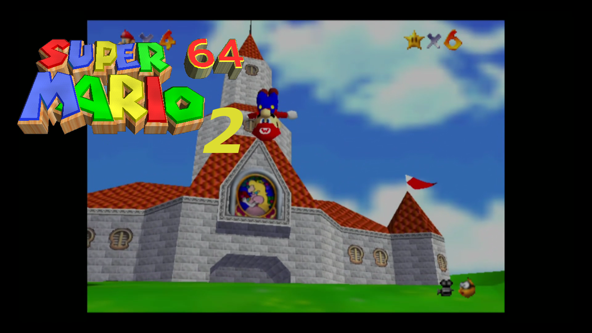 Lets Play Plato Super Mario 64 Part 2 Synleto