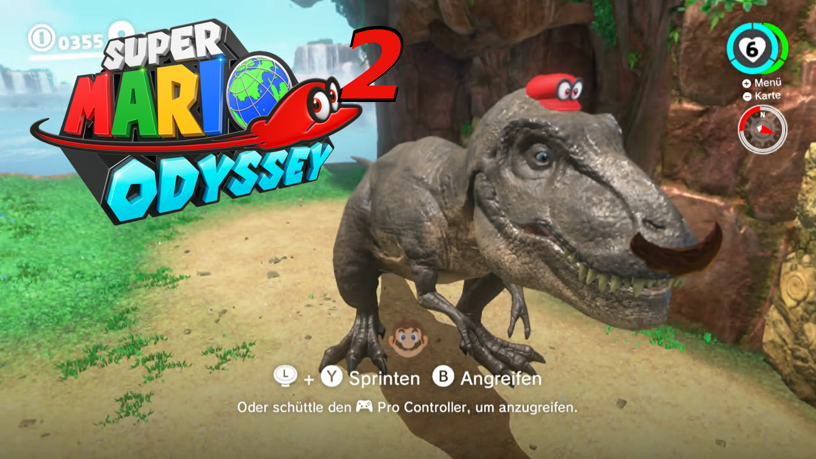 Lets Play Together Super Mario Odyssey Part 2 Synleto